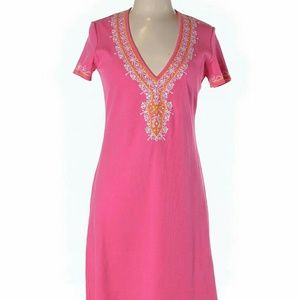 Ethnic Style Embroidered Dress